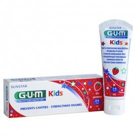 GUM Kids 2-6 Paste Strawberry 3000 50ml