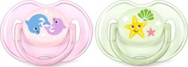 PHILIPS AVENT Classic Pacifiers Scf169/36 0-6m 2 Τμχ