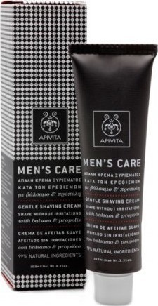 APIVITA Mens Care Crema de Afeitar Suave 100ml