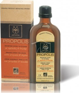 APIVITA Propolis Children's Organic Neck Syrup with Honey & Thyme 150ml