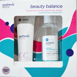 PANTHENOL EXTRA CC Day Cream SPF15 Light Shade 50ml & True Cleanser 3 in 1 100ml