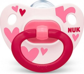 NUK Classic Happy Days  6-18m  σιλικόνη 1τμχ