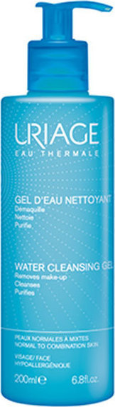URIAGE Eau Thermale Water Cleansing Gel Normal Combination Skin 200ml
