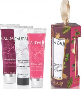 CAUDALIE Promo Hand Cream Trio Hand And Nail Cream 30ml & The Des Vignes 30ml & Rose De Vigne 30ml