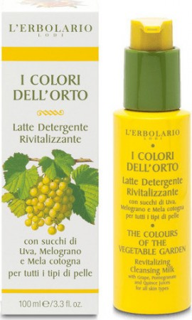 L Erbolario The Colors of the Vegetable Garden Revitalizing Cleansing Milk 100ml