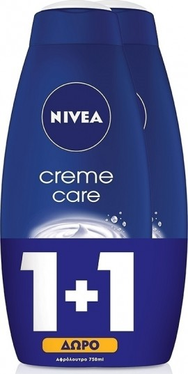 NIVEA Bath Creme Care 750ml 1+1