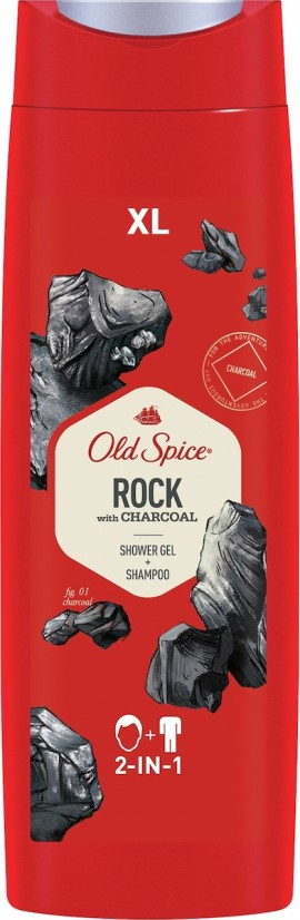 Gel de ducha y champú OLD SPICE Rock 400ml