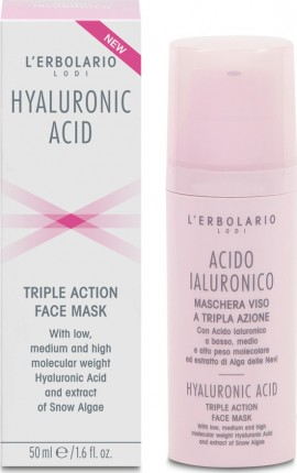 L ERBOLARIO Acido Ialuronico Triple Action Face Mask 50ml