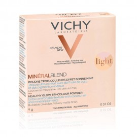 VICHY Mineralblend Healthy Glow Tri-Colour Powder Light 9gr