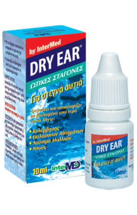 DRY EAR DROPS 10ML