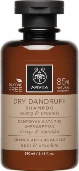 APIVITA Anti-Dry Skin Shampoo with Selleri & Propolis 250ml