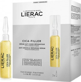 LIERAC Cica Filler Anti Wrinkle Repairing Serum 3x10ml