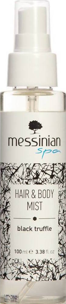 MESSINIAN SPA Hair & Body Mist Μαύρη Τρούφα Eau Fraiche 100ml