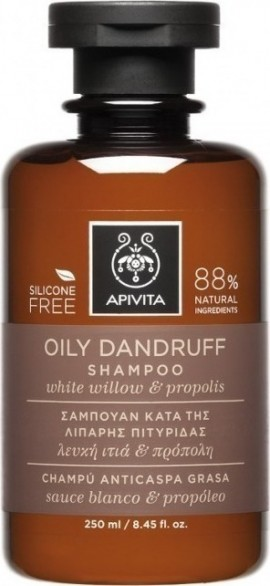 APIVITA Anti-Schuppen-Shampoo mit White Willow & Propolis 250ml