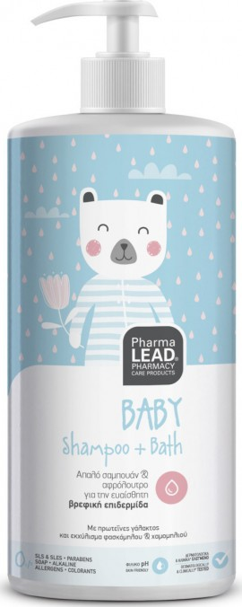 PHARMALEAD Baby Shampoo + Bad 1lt