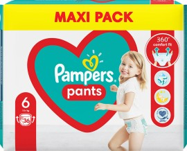 PAMPERS Pants No 6 (15kg +) 36pcs