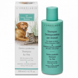 LERBOLARIO THE Loyal Friends Garden Dermo-protective Shampoo For Pets 200ml