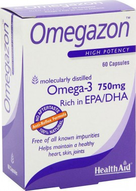 HEALTH AID Omegazon 750mg 60 κάψουλες
