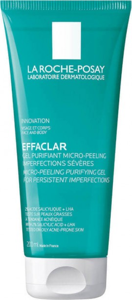 La Roche Posay Effaclar Micro Peeling Purifying Gel Wash 200ml