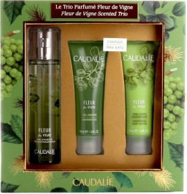 CAUDALIE Fleur de Vigne Scrented Trio Set Fresh Fragrance 50ml + ΔΩΡΟ Shower Gel 50ml + Nourishing Body Lotion 50ml
