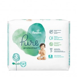 Pampers Pure Protection No 3 (6-10kg) 31τμχ