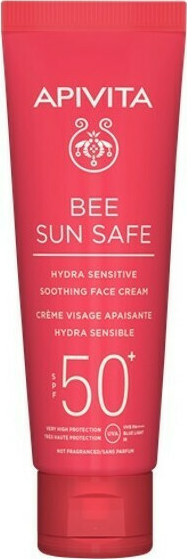 APIVITA Bee Sun Safe Hydra Sensitive Soothing Face Cream SPF50 50ml
