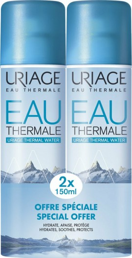 URIAGE Eau Thermale D活肤水2x150ml