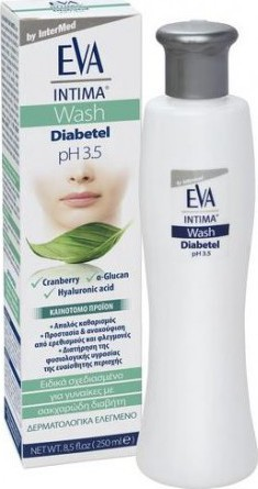 Intermed EVA INTIMA WASH DIABETEL ph 3.5 250ml