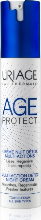 Uriage Age Protect Creme Nuit Detox Multi-Action 40ml