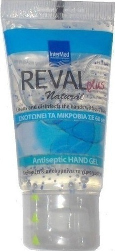 Intermed REVAL PLUS NEUTRAL ANTISEPTIC HAND GEL 30ml