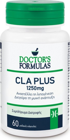 Doctors Formulas CLA Plus 1250mg 60 κάψουλες