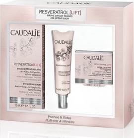 Caudalie Resveratrol Lift Eye Lifting Balm (15ml) + ΔΩΡΟ: Resveratrol Lift Firming Serum (10ml) and Resveratrol Lift Face Lifting Soft Cream (15ml)