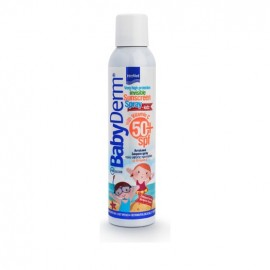 INTERMED Babyderm Invisible Sunscreen Spray Kids With Vitamin C SPF50, Παιδικό Αντηλιακό Σπρέι 200ml