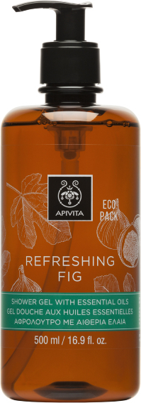 APIVITA Eco Pack Gel de ducha Refreshing Fig 500ml