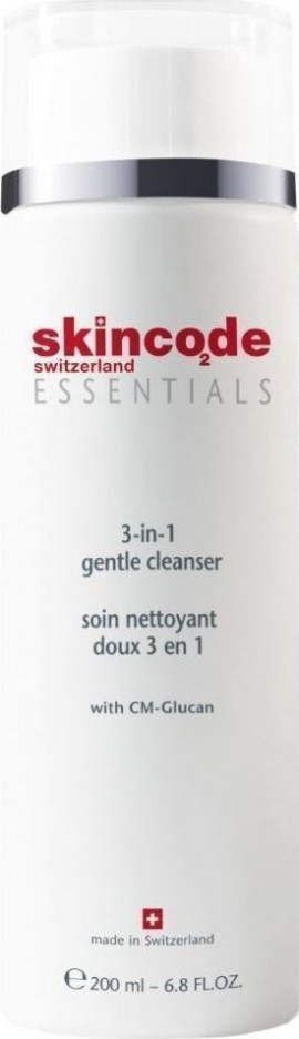 SKINCODE 3 In 1 Gentle Cleanser 200ml