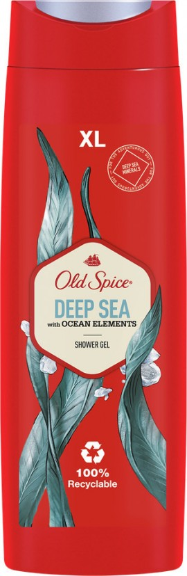 OLD SPICE Deep Sea with Ocean Elements Shower Gel 400ml
