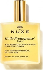 NUXE Huile Prodigieuse Rich Multipurpose Nourishing Oil 100ml
