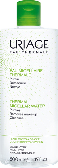 URIAGE Thermal Cleansing Micellar Water For Combination/oily Skin 250ml