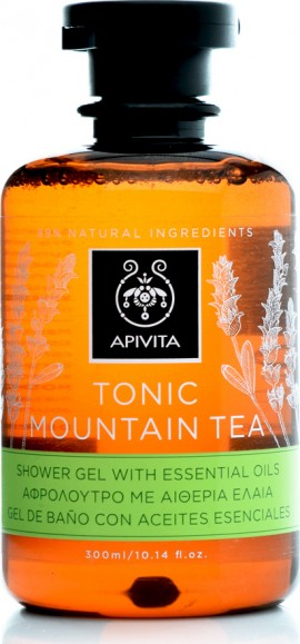 APIVITA ΑΦΡΟΛΟΥΤΡΟ TONIC MOUNTAIN TEA 300ml