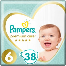 Pampers Premium Care Jumbo Box No 6 (13 + kg) 38 piezas