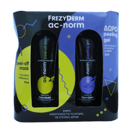 FREZYDERM Ac-Norm Mascarilla Peel-off 50ml + Gel Peeling REGALO 25ml