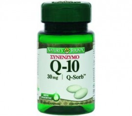 NATURES BOUNTY Q-10 Q-SORB 30mg 50 SOFT C