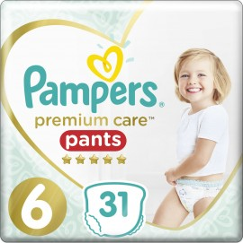 PAMPERS Premium Care Pants No 6 (15 + Kg) 31pcs