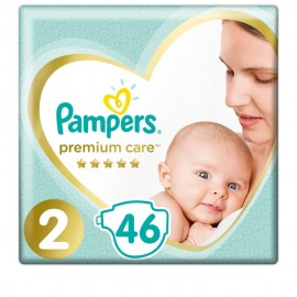 PAMPERS Premium Care No2 (4-8 kg) 46-tlg