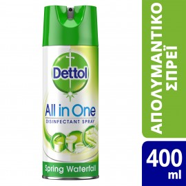 DETTOL Spring Waterfall Disinfectant Spray 400ml