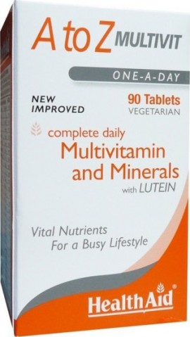 HEALTH AID A to Z Multivit 90 tablets
