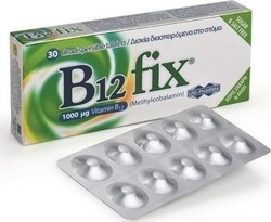 UNI-PHARMA B12 - Fix 1000mg Tab30