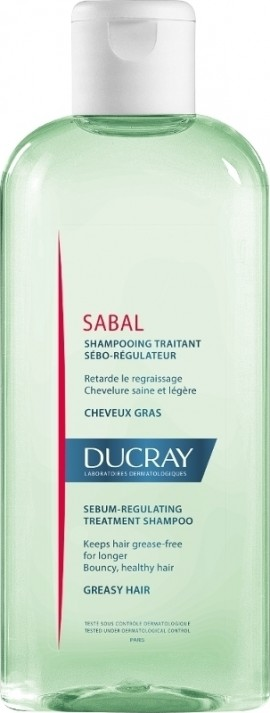 DUCRAY Champú Tratamiento Regulador de Sebo 200ml