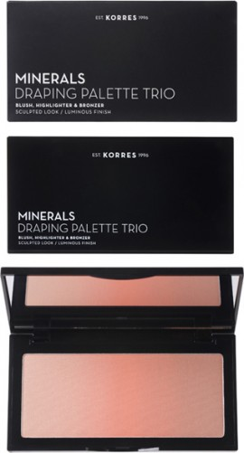 KORRES Minerals Draping Palette Trio Pink
