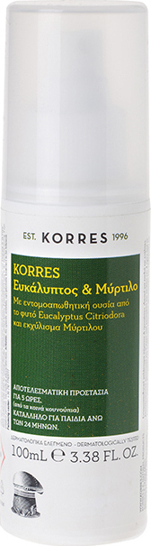 KORRES Eucalyptus & Blueberry Insect repellent